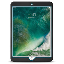 Load image into Gallery viewer, Dual Layer Hybrid Case - Black/Blue for Apple iPad Pro 10.5