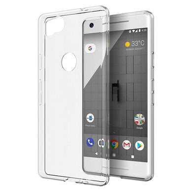 Protective TPU Case - Crystal Clear for Google Pixel 2