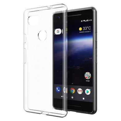 Protective TPU Case - Crystal Clear for Google Pixel 2 XL