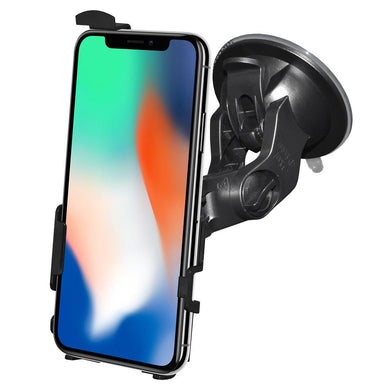 AMZER Suction Cup Mount for Windshield, Dash or Console for iPhone X