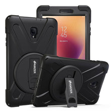 Load image into Gallery viewer, AMZER TUFFEN Case - Black for Samsung Galaxy Tab A 2017 SM-T385