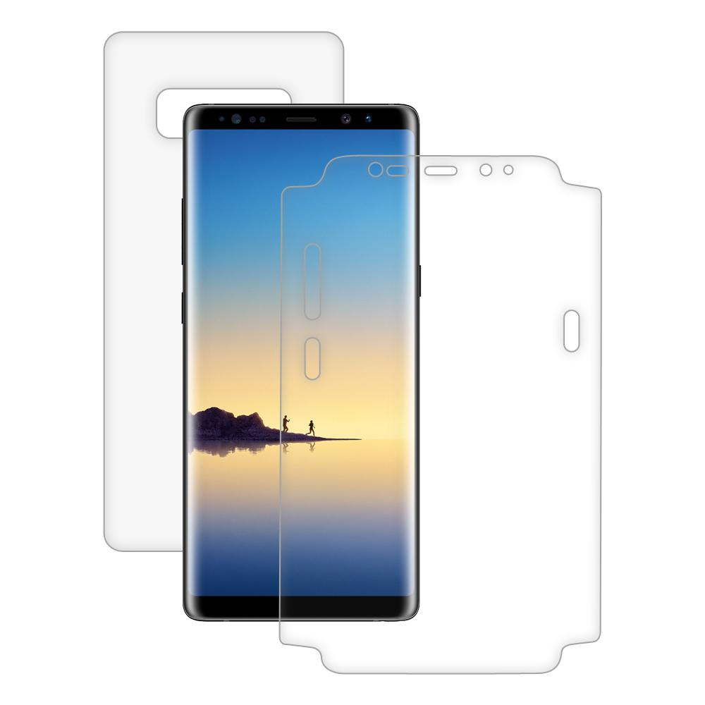 AMZER ShatterProof Screen Protector - Full Body Coverage for Samsung Galaxy Note8 SM-N950U