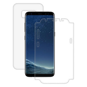 AMZER ShatterProof Screen Protector - Full Body Coverage for Samsung Galaxy S8 Plus