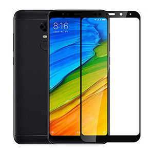 AMZER® Kristal™ Tempered Glass HD Screen Protector - Black for Xiaomi Redmi 5