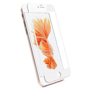 AMZER® Kristal™ Tempered Glass HD Screen Protector - White for iPhone 5