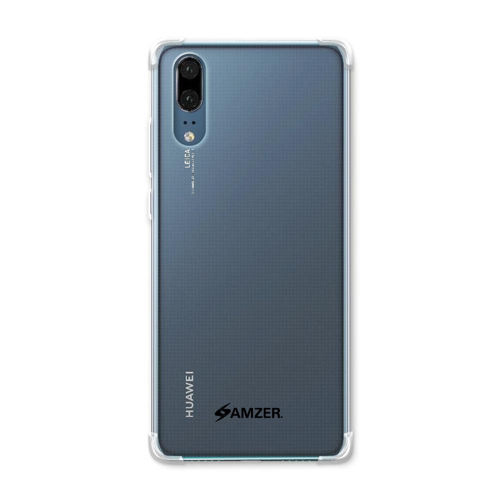 AMZER Pudding TPU X Protection Case - Crystal Clear for Huawei P20