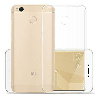 AMZER Premium Flex TPU Skin Cover - Clear for Xiaomi Redmi 4