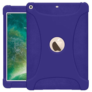 The new 9.7 iPad 2018 Jelly Case Blue