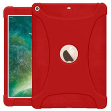 Load image into Gallery viewer, The new 9.7 iPad 2018 Jelly Case Red