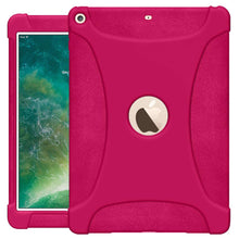 Load image into Gallery viewer, The new 9.7 iPad 2018 Jelly Case Hot Pink