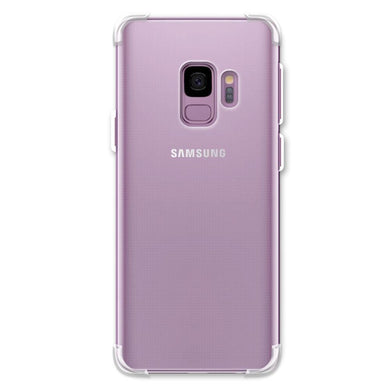 AMZER Pudding TPU X Protection Case - Crystal Clear for Samsung Galaxy S9
