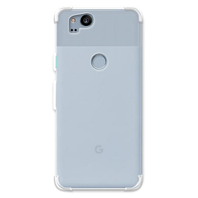 AMZER Pudding TPU X Protection Case - Crystal Clear for Google Pixel 2
