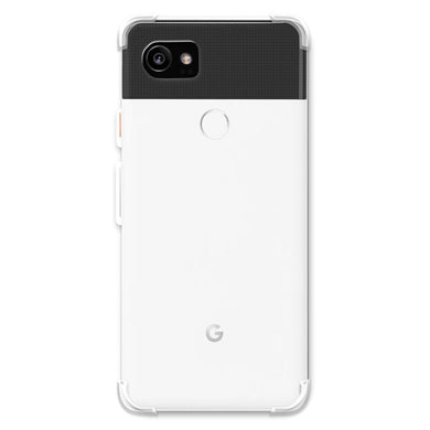 AMZER Pudding TPU X Protection Case - Crystal Clear for Google Pixel 2 XL