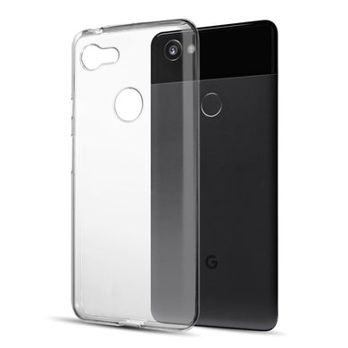 AMZER® Protective TPU Case - Crystal Clear for Google Pixel 3 XL