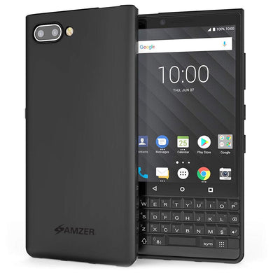 AMZER Pudding TPU Case - Black for BlackBerry Key2