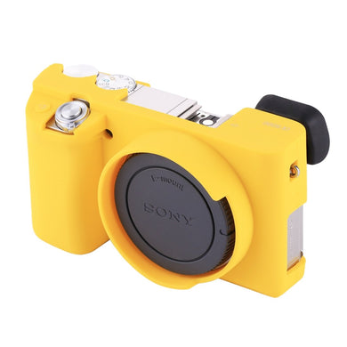 AMZER Soft Silicone Protective Case for Sony ILCE-6000 - Yellow