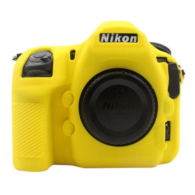 AMZER Soft Silicone Protective Case for Nikon D850 - Yellow