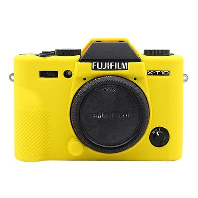 AMZER Soft Silicone Protective Case for FUJIFILM X-T20 - Yellow