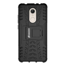 Load image into Gallery viewer, AMZER Shockproof Warrior Hybrid Case for Xiaomi Redmi 5 - Black/Black