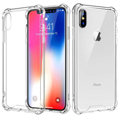 AMZER Pudding TPU X Protection Case - Crystal Clear for iPhone Xs Max