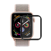 Load image into Gallery viewer, AMZER 3D Full HD Screen Protector With Electroplating PET Curved Heat Bending for Apple Watch Series 4 40mm - Black