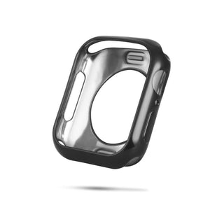 AMZER Shockproof Full Body Bumper Electroplated TPU Soft Shell Protective Cover for Apple Watch Series 4 44mm