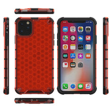 Load image into Gallery viewer, AMZER Honeycomb SlimGrip Hybrid Bumper Case for iPhone 11 Pro - fommystore