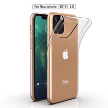 Load image into Gallery viewer, AMZER Ultra Slim TPU Soft Protective Case for iPhone 11 Pro Max - Clear - fommystore