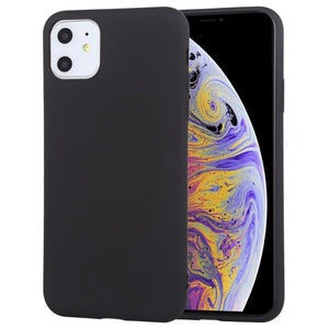 AMZER Shockproof Silicone Skin Jelly Case for iPhone 11 - Black - fommystore