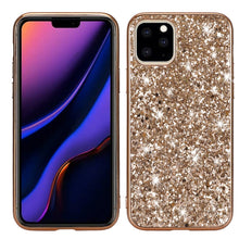 Load image into Gallery viewer, AMZER Shockproof Glitter Powder TPU Protective Case for iPhone 11 Pro - fommystore