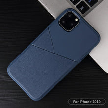 Load image into Gallery viewer, AMZER Shockproof Soft TPU Leather Protective Case for iPhone 11 - fommystore
