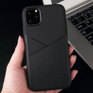 AMZER Shockproof Soft TPU Leather Protective Case for iPhone 11 Pro - fommystore