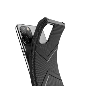 AMZER Diamond Design TPU Protective Case for iPhone 11 Pro Max - Black - fommystore