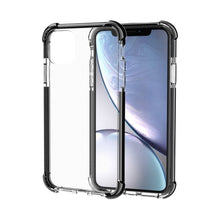 Load image into Gallery viewer, AMZER SlimGrip Bumper Hybrid Case for iPhone 11 Pro Max - Black - fommystore