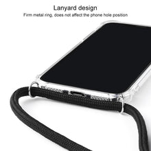Load image into Gallery viewer, AMZER Pudding TPU Soft Skin X Protection Case With Lanyard for iPhone 11 Pro - Clear - fommystore