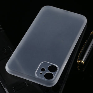 AMZER Ultra Thin Frosted PP With Exact Cutouts Case for iPhone 11 - fommystore