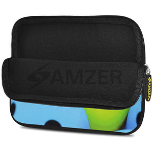 AMZER 10.5 Inch Neoprene Zipper Sleeve Pouch Tablet Bag - Smile Always