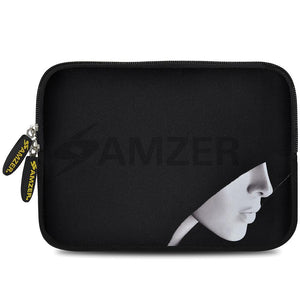 AMZER 7.75 Inch Neoprene Zipper Sleeve Pouch Tablet Bag - The Dark Lord