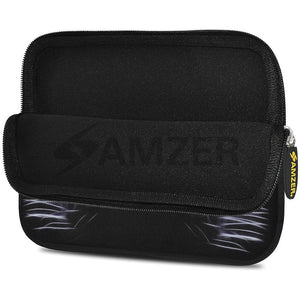 AMZER 10.5 Inch Neoprene Zipper Sleeve Pouch Tablet Bag - Blue Eyes