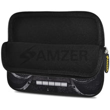 Load image into Gallery viewer, AMZER 10.5 Inch Neoprene Zipper Sleeve Pouch Tablet Bag - Black Stereo