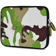 Load image into Gallery viewer, AMZER 10.5 Inch Neoprene Zipper Sleeve Pouch Tablet Bag - Army