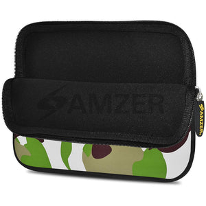 AMZER 10.5 Inch Neoprene Zipper Sleeve Pouch Tablet Bag - Army