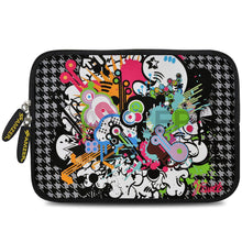 Load image into Gallery viewer, AMZER 10.5 Inch Neoprene Zipper Sleeve Pouch Tablet Bag - Funky Mix