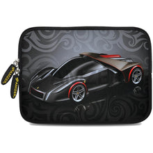 Load image into Gallery viewer, AMZER 10.5 Inch Neoprene Zipper Sleeve Pouch Tablet Bag - Racer Swirl
