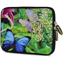 Load image into Gallery viewer, AMZER 7.75 Inch Neoprene Zipper Sleeve Pouch Tablet Bag - Pandora Green