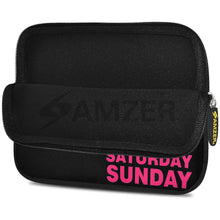 Load image into Gallery viewer, AMZER 7.75 Inch Neoprene Zipper Sleeve Pouch Tablet Bag - Weekdays