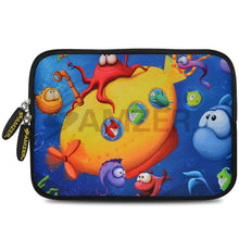 Load image into Gallery viewer, AMZER 10.5 Inch Neoprene Zipper Sleeve Pouch Tablet Bag - Sea World