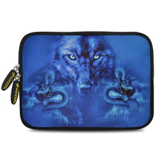 Load image into Gallery viewer, AMZER 10.5 Inch Neoprene Zipper Sleeve Pouch Tablet Bag - Blue Trix