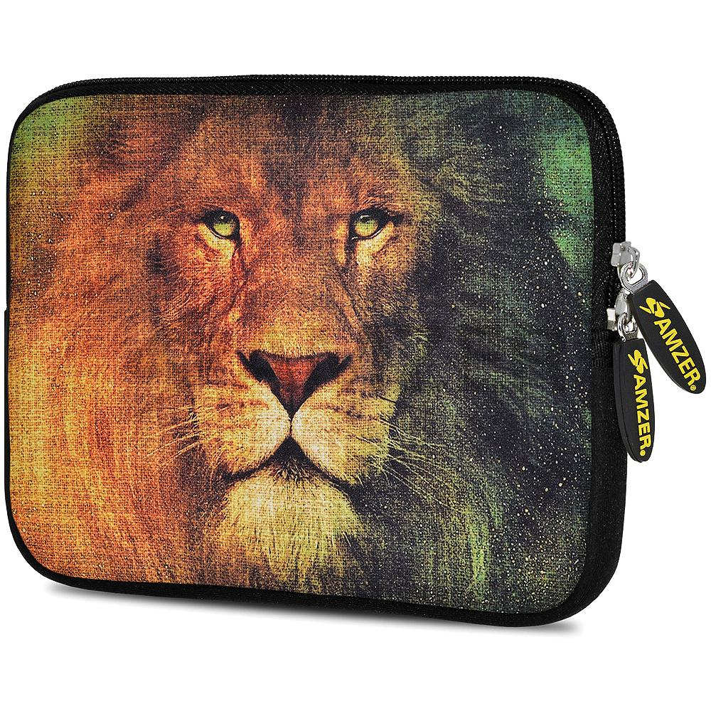 AMZER 10.5 Inch Neoprene Zipper Sleeve Pouch Tablet Bag - King Lion