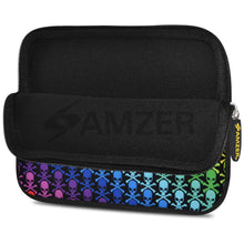 Load image into Gallery viewer, AMZER 7.75 Inch Neoprene Zipper Sleeve Pouch Tablet Bag - Prism